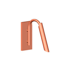 Copper Wall Light D5