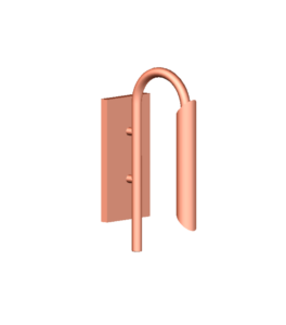 Copper Wall Light D6